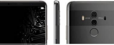 El Huawei Mate 10 Pro se muestra en un nuevo render