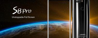 El Leagoo S8 Pro (Helio P25/6GB) y el S8 (MT6750T/3GB) salen a la venta por 214 y 103 euros