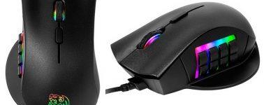 Tt eSports Nemesis: Ratón gaming con 12 botones e iluminación RGB