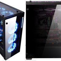 Xigmatek Prosper: Semitorre con cuádruple panel de vidrio templado y RGB