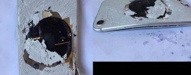 Explota el primer iPhone 8 por un mal funcionamiento de la batería