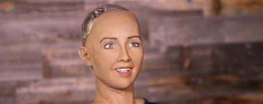 El robot humanoide 'Sophia' da ya sus primeros pasos