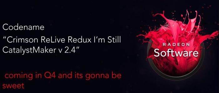 AMD Radeon Crimson ReLive Redux 1 0