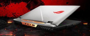 Asus ROG G703: 17.3″ @ 144 Hz con CPU Kaby Lake y GeForce GTX 1080
