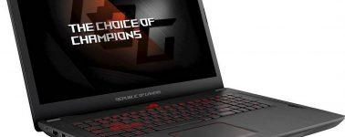Asus ROG Strix GL702ZC: Portátil con AMD Ryzen 7 1700 + Radeon RX 580 por 1.499 dólares