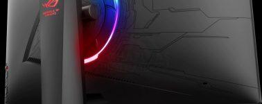 Asus ROG Strix XG32VQ: VA curvo de 32″ WQHD @ 144 Hz con iluminación RGB