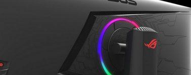 Asus ROG Strix XG35VQ: 35″ UWQHD @ 100 Hz con AMD FreeSync e iluminación RGB