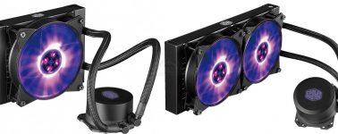 Cooler Master lanza sus MasterLiquid ML240L RGB y ML120 RGB, líquidas de bajo coste