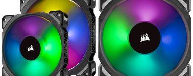 Corsair ML Pro RGB: Los ventiladores con levitación magnética se suman a la moda RGB