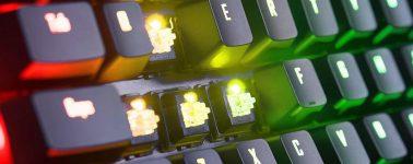 Gigabyte Aorus K9 Optical: Teclado gaming mecánico con pulsadores Flaretech
