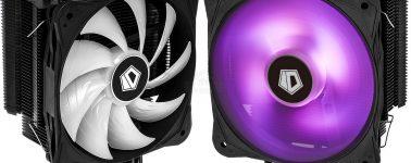 ID-Cooling SE-214RGB: Disipador CPU negro mate con iluminación RGB