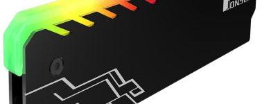 Jonsbo NC-1: Disipador con iluminación RGB para tu memoria RAM