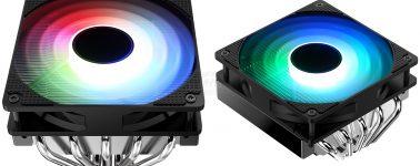 Jonsbo PC-701: Disipador CPU de tamaño compacto con iluminación RGB