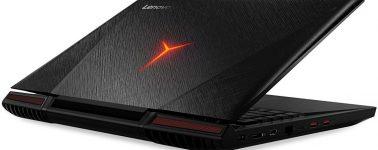 Lenovo Ideapad Y910-17ISK: 17.3″, Core i7-6820HK, 32GB RAM, SSD 512GB y GeForce GTX 1070 por 1.499€