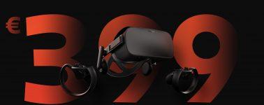 Oculus Rift + Oculus Touch en oferta por sólo 399 euros