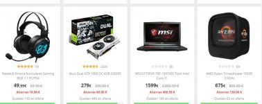 [Black Friday] PcComponentes arranca con los productos Gaming
