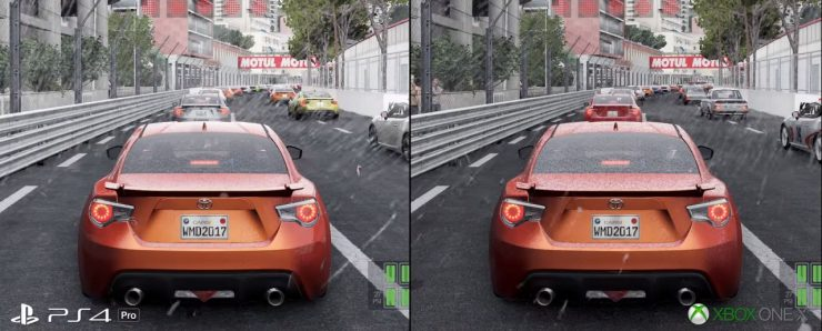Project Cars 2 en Xbox One X vs PlayStation 4 Pro 1 740x298 0