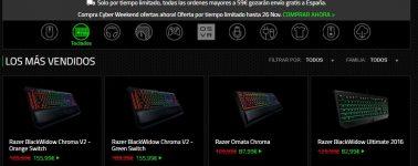 Razer arranca con su Cyber Weekend, hasta un 30% de descuento