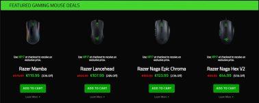 """Razer rebaja todos sus periféricos en su """"Cyber Weekend"""""""