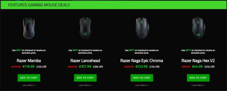 Razer Cyber Weekend 740x296 0