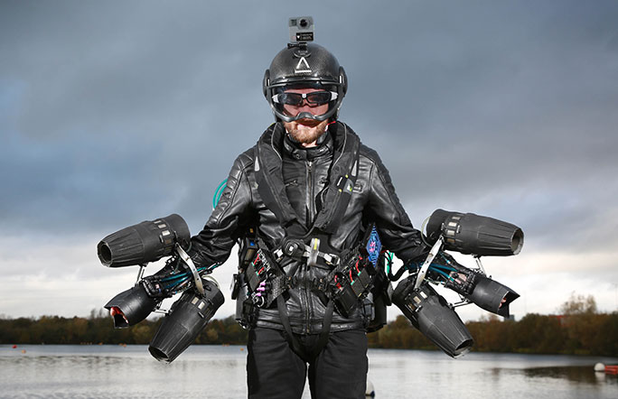 Richard Browning Gravity Industries Iron Man 1 0