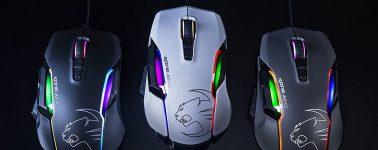 Roccat Kone AIMO: Ratón gaming con diseño atractivo, iluminación RGB y 12 botones