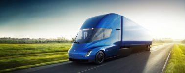 Pepsi reserva 100 unidades del camión eléctrico Tesla Semi
