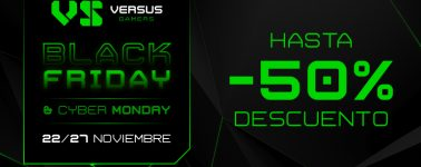 Versus Gamers arranca el Black Friday con descuentos en hardware y periféricos gaming