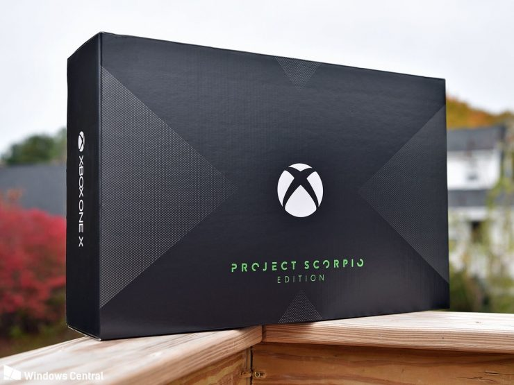 Xbox One X Project Scorpio 740x555 0
