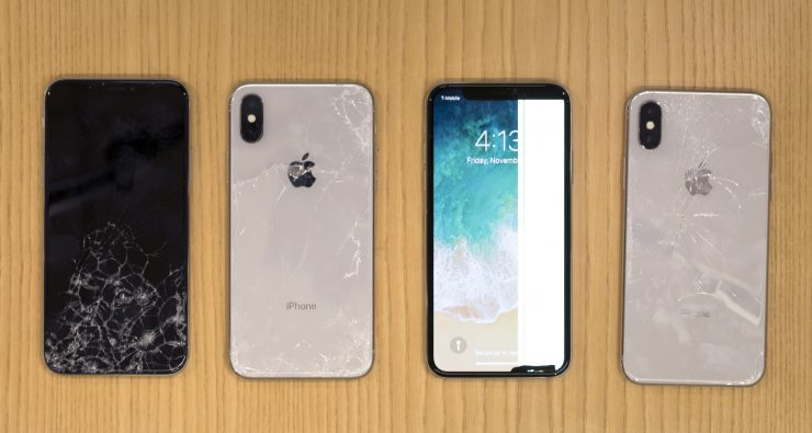 iPhone X prueba caídas 740x395 1