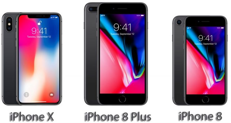iPhone X vs iPhone 8 Plus vs iPhone 8 740x394 0