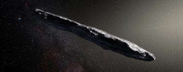 La NASA aporta más datos sobre el asteroide interestelar Oumuamua