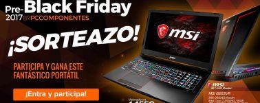 PcComponentes arranca el Pre-Black Friday con ofertas y sorteando un portátil gaming