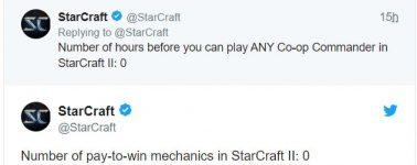 Blizzard se burla del Star Wars: Battlefront II poniendo de ejemplo su Starcraft II