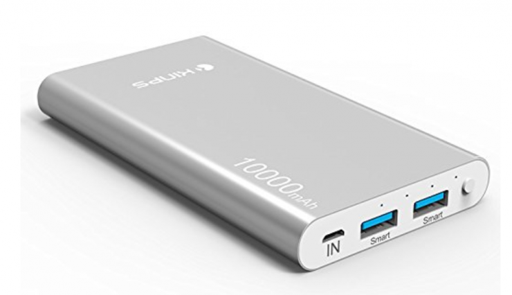 2017 12 20 18 35 01 Power Bank Kinps 10000mAh Doble Puerto Total 5V 3.5A Batería Externa Portáti 740x426 3