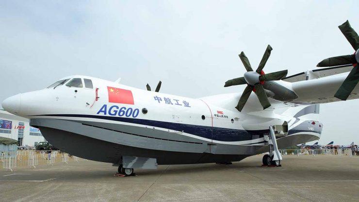 AG600 Avión anfibio china 1 740x416 0