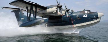El avión anfibio más grande del mundo hace su vuelo inaugural en China