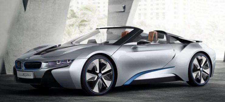 BMW i8 Roadster. 740x337 0