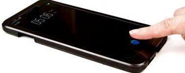 El primer Smartphone con lector de huellas bajo la pantalla llegará en el CES 2018
