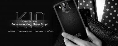 Oukitel K10: Smartphone de 6″ Full HD+ con batería de 11.000 mAh de capacidad