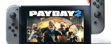 Payday 2 llegará a la Nintendo Switch a finales del mes de Febrero