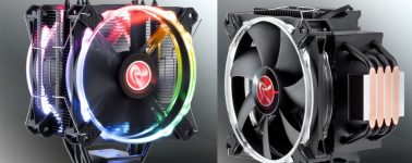 Raijintek Leto Pro RGB: 925 gramos de disipador con doble ventilador RGB