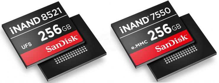 SanDisk iNAND 7750 y el iNAND 8521 740x281 0