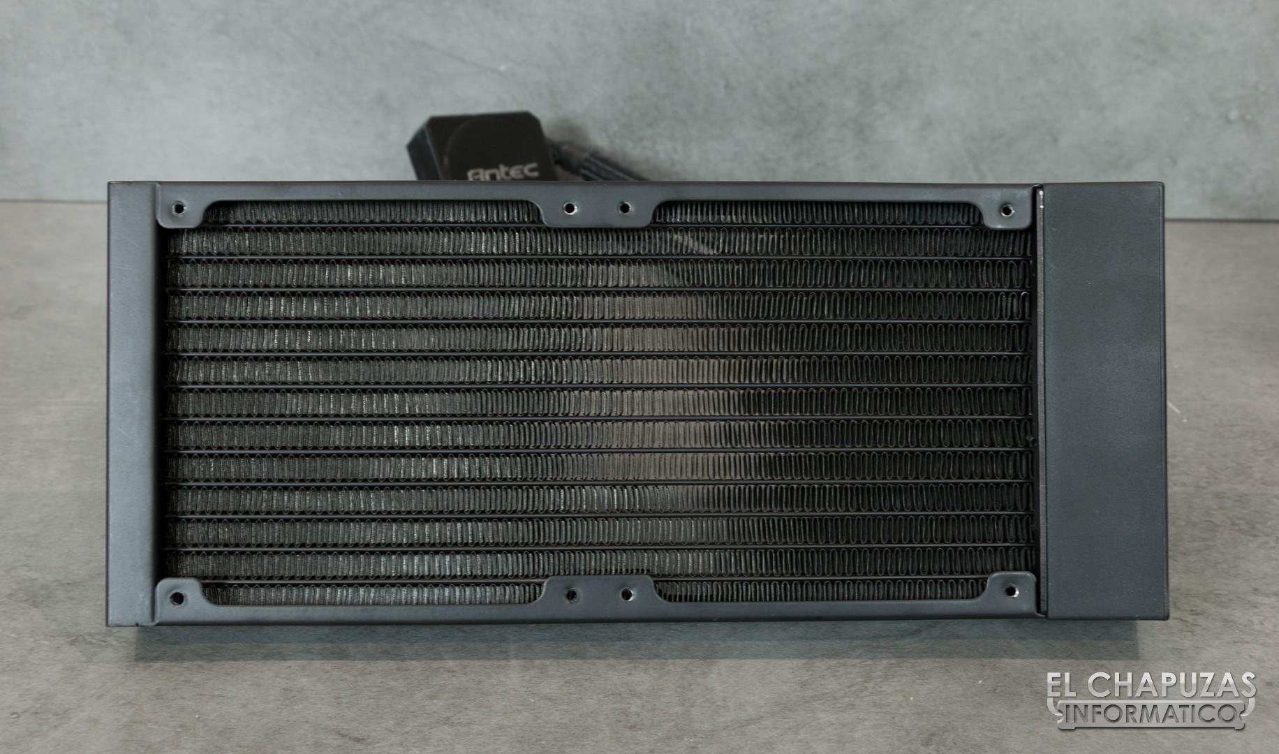 Review: Antec Kühler H2O K240 - El Chapuzas Informático