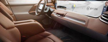 Byton muestra su SUV eléctrico semiautónomo de precio asequible, con Alexa y conexión 5G