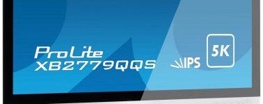 Iiyama XB2779QQS: Un monitor IPS de 27″ con resolución 5K y 4ms