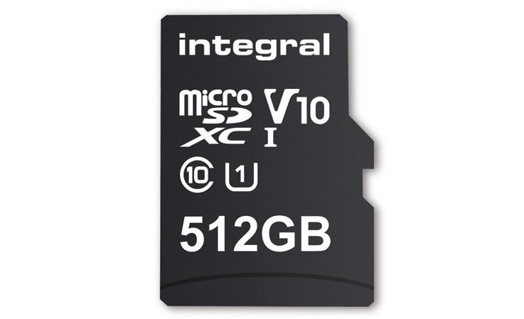 Integral microSDXC 512GB 0