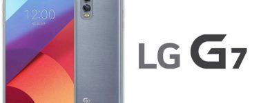 El LG G7 llegaría en Abril con un Snapdragon 845, certificación IP68 y cuatro cámaras