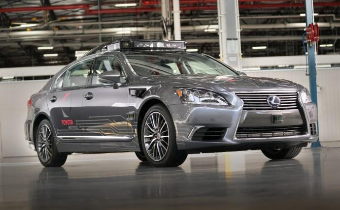 Lexus LIDAR toyota vehículo autónomo 0