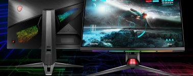 MSI OPTIX MPG27CQ: Panel VA curvo de 27″ WQHD @ 144 Hz e iluminación RGB